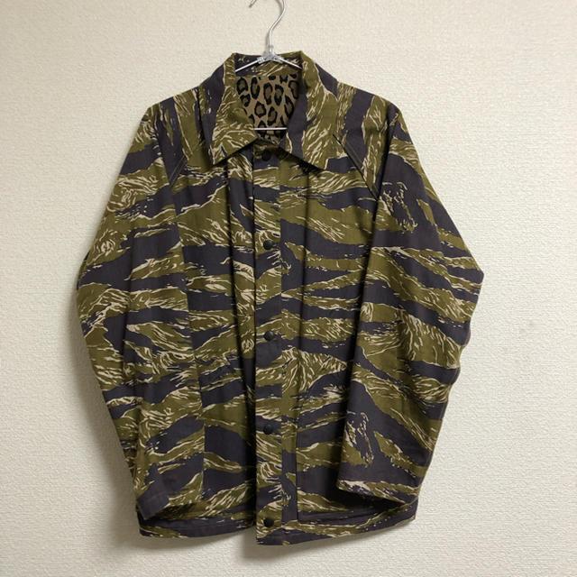 Needles(ニードルス)のNeedles REVERSIBLE FIELD JACKET ニードルズ メンズのジャケット/アウター(ブルゾン)の商品写真