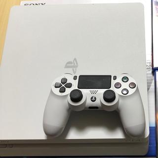 ソニー(SONY)のPS4 500GB ホワイト(家庭用ゲーム本体)