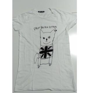アッシュペーフランス(H.P.FRANCE)のBlackScore 猫Tシャツ(Tシャツ(半袖/袖なし))