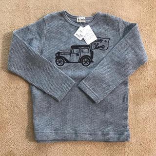 t/mini - t/mini 長袖Tシャツ ガーゼ サーマル ワッフル 120
