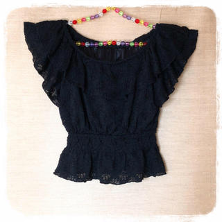 セシルマクビー(CECIL McBEE)のセシルトップス(シャツ/ブラウス(半袖/袖なし))