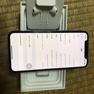 Apple - iphone x sim フリー