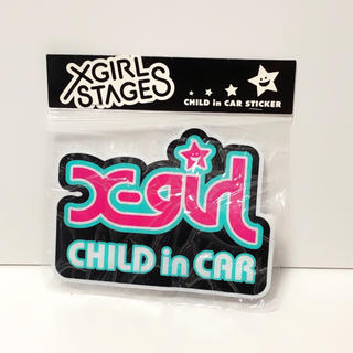 X-girl Stages - X-GIRLSTAGES CHILD in CAR