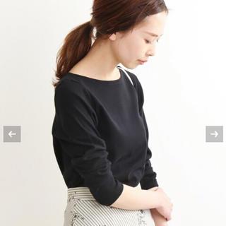 IENA - イエナ AURALEE IENA 別注ボートネックTシャツ 定価10800円!