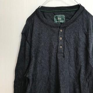 ジーエイチバス(G.H.BASS)のアメリカ古着! Tシャツ 長袖 L G.H.Bass グレー [27](Tシャツ/カットソー(七分/長袖))