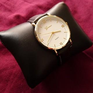 【新品】ダニエルウェリントンが好きな方 ブラック/ブラックゴールド(腕時計(アナログ))