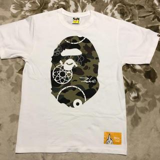 アベイシングエイプ(A BATHING APE)のape bape futura コラボ 限定 camo tシャツ head m(Tシャツ/カットソー(半袖/袖なし))