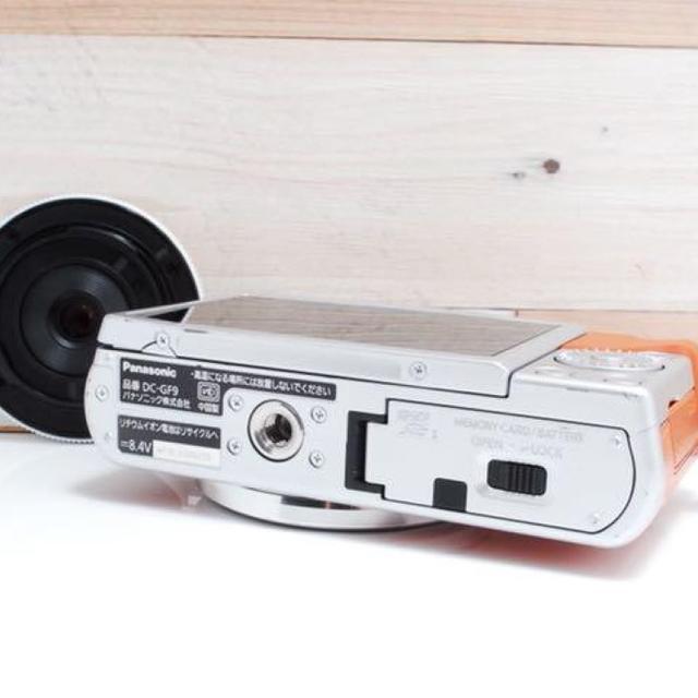 Panasonic(パナソニック)の★超人気★手のひらサイズ★LUMIX GF9★ スマホ/家電/カメラのカメラ(ミラーレス一眼)の商品写真