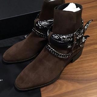 Saint Laurent - AMIRI Bandana Boots アミリ バンダナブーツ 26cm
