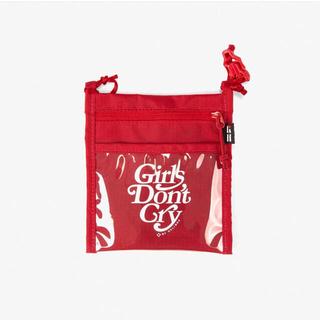 ジーディーシー(GDC)のgirlsdon'tcry helinox nylon pouch(ショルダーバッグ)
