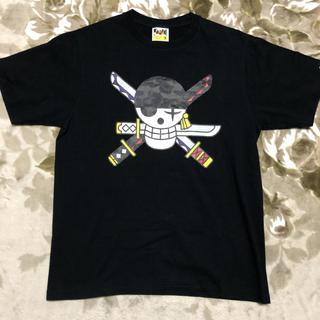 アベイシングエイプ(A BATHING APE)のBAPE APE ONE PIECE ゾロ 限定 camo tシャツ tee m(Tシャツ/カットソー(半袖/袖なし))