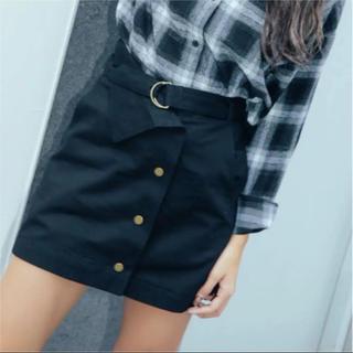 GRL - ベルト付き カーゴ ミニスカート