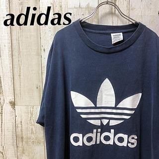 アディダス(adidas)の90'p adidas アディダス トレフォイル  両面プリント Tシャツ XL(Tシャツ/カットソー(半袖/袖なし))