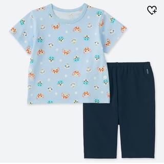 ユニクロ(UNIQLO)のユニクロ ガラピコぷ〜 未開封 パジャマ 80センチ(パジャマ)