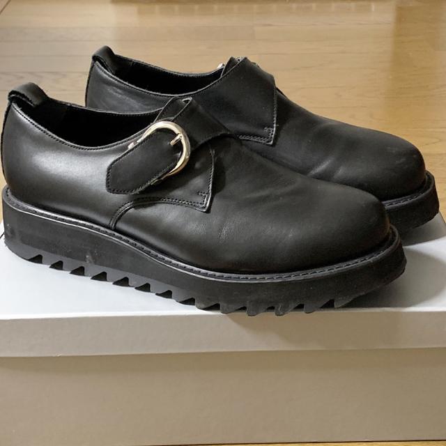 HARE(ハレ)のシャークソールモンクシューズ(HARE) メンズの靴/シューズ(ドレス/ビジネス)の商品写真