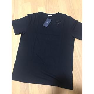 Saint Laurent - サンローラン  YB2WS ブランドネームロゴ クルーネック Tシャツ Sサイズ