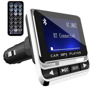 【送料無料】FMトランスミッター ハンズフリー通話 Bluetooth