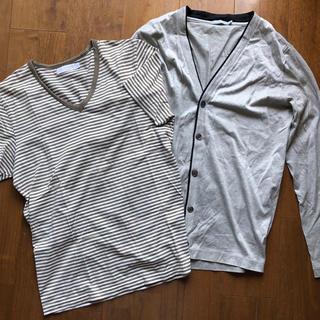 サンスペル(SUNSPEL)のサンスペル SUNSPEL Tシャツ&カーディガンセット(Tシャツ/カットソー(半袖/袖なし))
