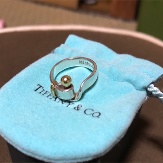 ティファニー(Tiffany & Co.)のティファニーリング K18&925(リング(指輪))