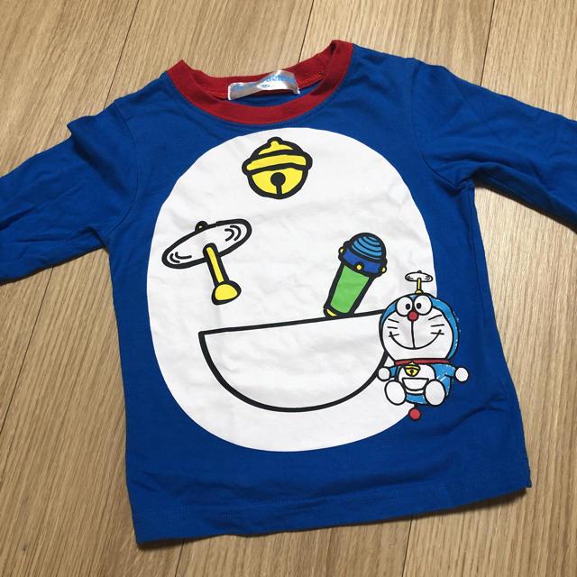 しまむら(シマムラ)のドラえもん なりきりロンT 90 キッズ/ベビー/マタニティのキッズ服 男の子用(90cm~)(Tシャツ/カットソー)の商品写真