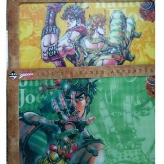 集英社 - ジョジョの奇妙な冒険 ビジュアルマット 2枚