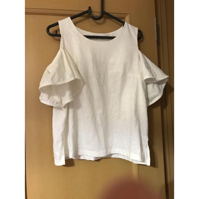 しまむら(シマムラ)の肩出しトップス レディースのトップス(Tシャツ(半袖/袖なし))の商品写真