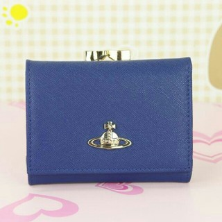 ヴィヴィアンウエストウッド(Vivienne Westwood)のヴィヴィアンウエストウッド がま口財布 ブルー(財布)