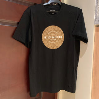 COACH - 【新品未使用】COACHコーチ シグネチャー 大人気 Tシャツ 黒