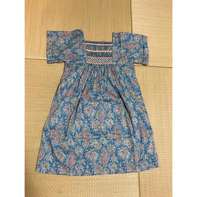 Bonpoint(ボンポワン)のボンポワン ワンピース キッズ/ベビー/マタニティのキッズ服 女の子用(90cm~)(ワンピース)の商品写真