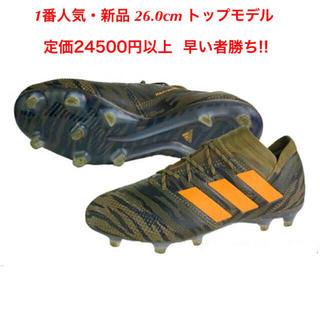 アディダス(adidas)のネメシス アディダス NEMEZIZ 新品 FG AG フットサル サッカー(シューズ)