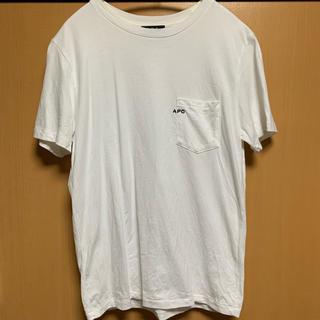 A.P.C - apc ロゴTシャツ xs