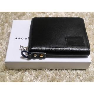 sacai - 新品未使用】sacai サカイ 二つ折り財布   男女兼用