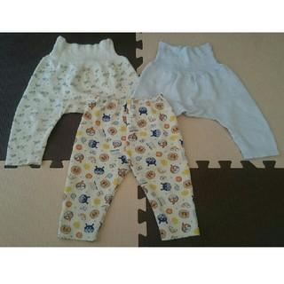 ニシマツヤ(西松屋)のパジャマ下 ズボン 3本セット 90(パジャマ)
