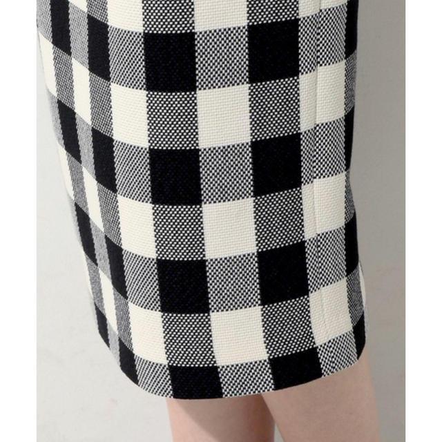 UNITED ARROWS(ユナイテッドアローズ)のユナイテッドアローズ ギンガムチェックスカート  レディースのスカート(ひざ丈スカート)の商品写真