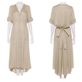 エンフォルド(ENFOLD)の新品 完売 styling/ kei ロングシャツドレス clane ACNE (ロングワンピース/マキシワンピース)