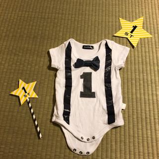 プティマイン(petit main)のお誕生日 1歳 バースデー(セレモニードレス/スーツ)