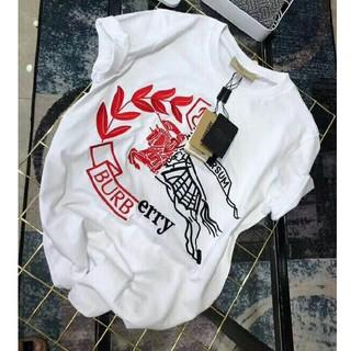 バーバリー(BURBERRY)の☆ 人気新品  BURBERRYバーバリー 夏 半袖 男女兼用 刺繍 *M(Tシャツ/カットソー(半袖/袖なし))