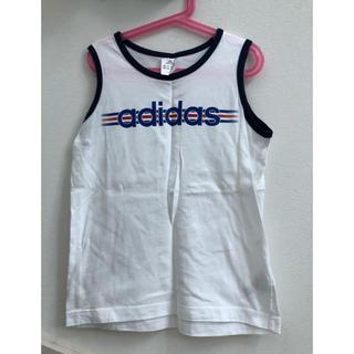 アディダス(adidas)のアディダス タンクトップ 140(Tシャツ/カットソー)