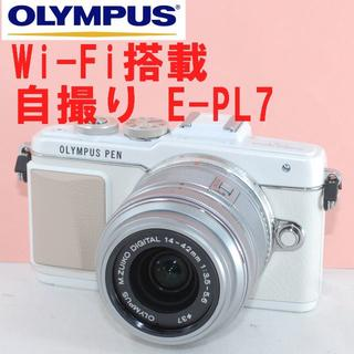 OLYMPUS - ★Wi-Fi&ラクラク自撮り!大人気♪★オリンパス E-PL7