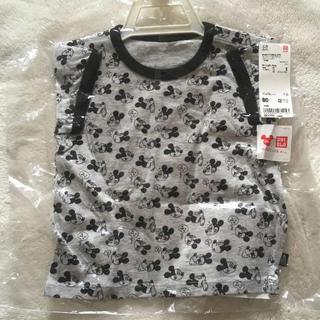 ユニクロ(UNIQLO)のユニクロ ミッキー柄 半袖Tシャツ 80センチ(Tシャツ)