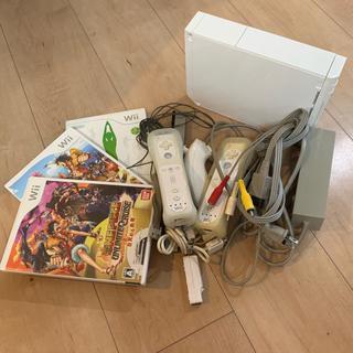 Wii - 任天堂 ニンテンドー Wii 本体 ソフト セット 中古
