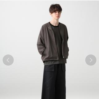 HARE - 定価12960円 ノーカラーZIPシャツブルゾン(HARE)