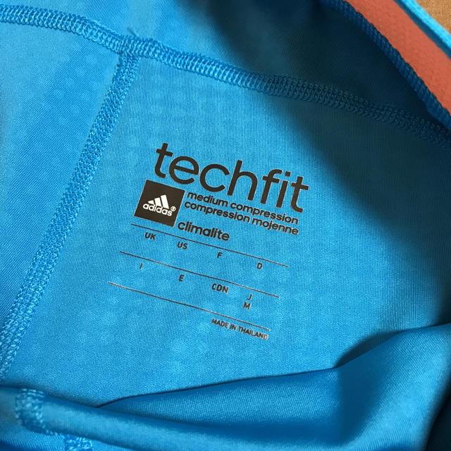 adidas(アディダス)のアディダス techfit レギンス Mサイズ レディースのレッグウェア(レギンス/スパッツ)の商品写真