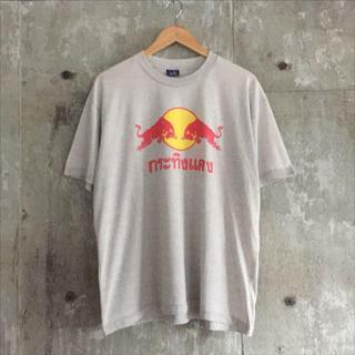 Red Bull レッドブル タイ語 Tシャツ グレー