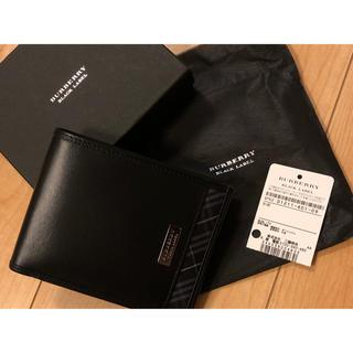 バーバリーブラックレーベル(BURBERRY BLACK LABEL)のRhyAnne様専用 バーバリーブラックレーベル 二つ折り財布(折り財布)