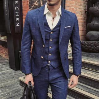 スタイリッシュスーツ スーツ メンズスーツ 3ピース セットアップ