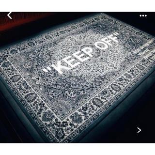 オフホワイト(OFF-WHITE)のOFF-WHITE × IKEA コラボ ラグ マット  日本未発売(ラグ)