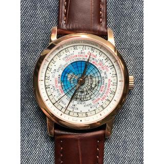 ヴァシュロンコンスタンタン(VACHERON CONSTANTIN)のトラディショナル ワールドタイム ゴールド(腕時計(アナログ))