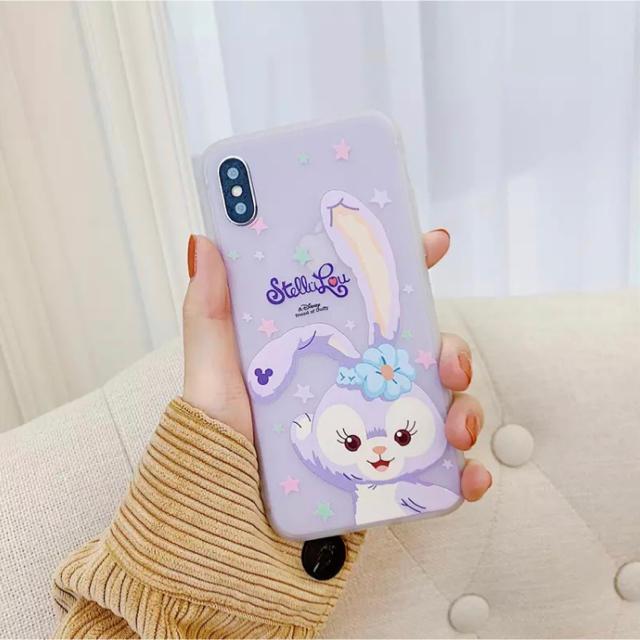 ステラ・ルー - ディズニー ステラ・ルー iPhone XR 用 ケース  シースルー パープルの通販 by love2pinky's shop|ステラルーならラクマ