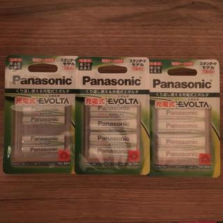 パナソニック(Panasonic)のPanasonic エボルタ 充電池 単3×8本+単4×4本(その他)
